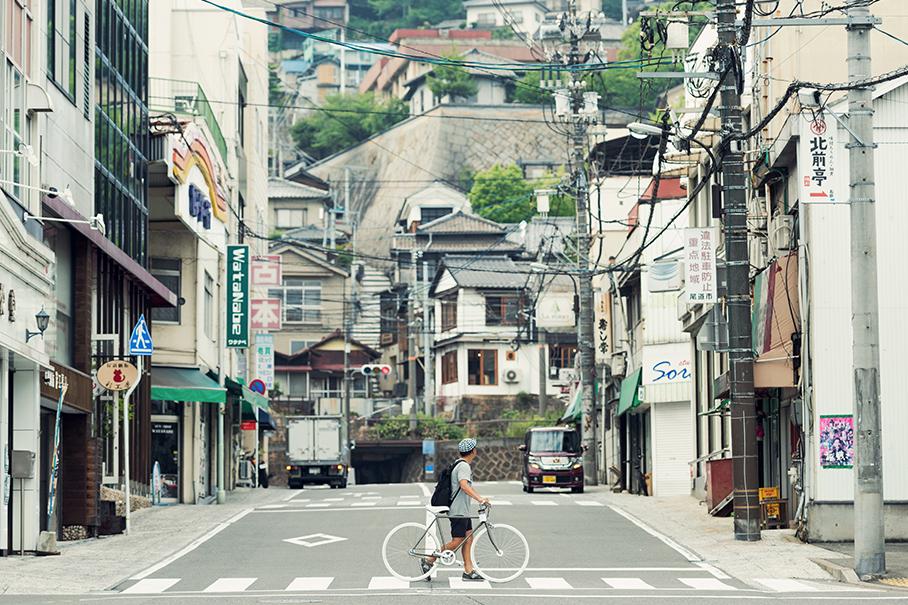 尾道発。ちょっといい、自転車。