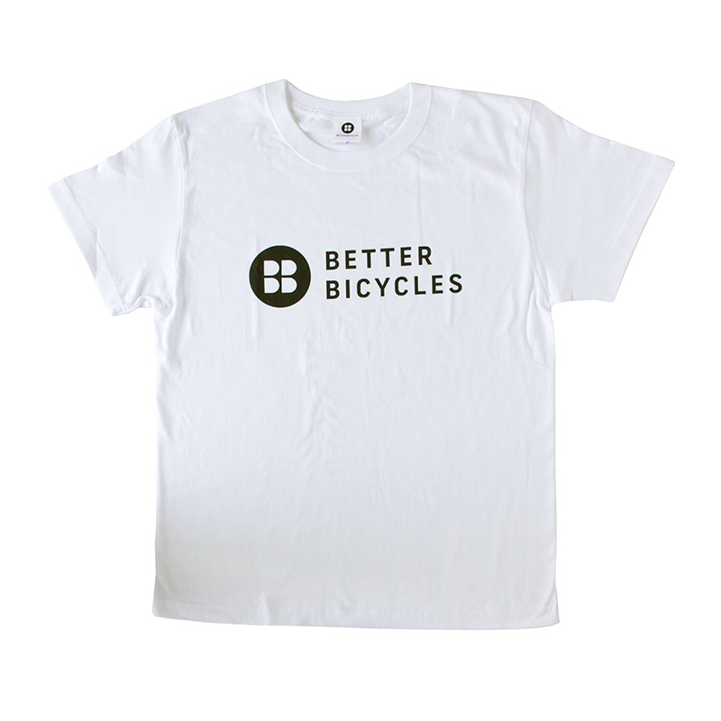 BETTER BICYCLES ロゴTシャツ